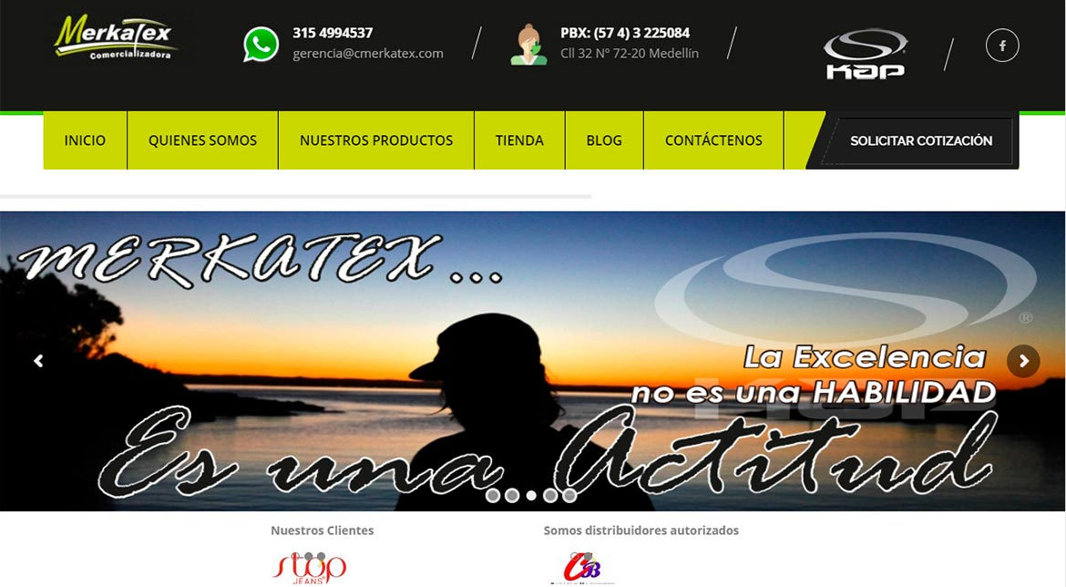 Diseño Web Digitransfer